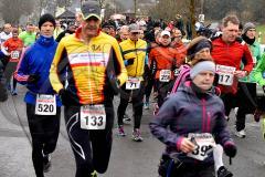 14. Föschber Radweglauf – 4. Lauf Ausdauer-Wintercup 2015/16