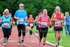 Bei optimalen äußeren Bedingungen gingen am 13. Juni 2014 insgesamt 191 Teilnehmer an den Start zum 20. Molzbergstadionlauf der LG Sieg über 5000 Meter. Es war der fünfte Wertungslauf zum Ausdauer-Cup 2014.